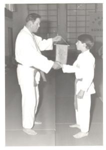 Cobus Iliadis en Professor Wally Jay - Nijmegen 1982