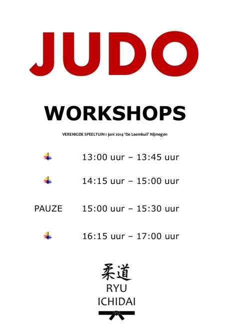 Programma Workschops JRI