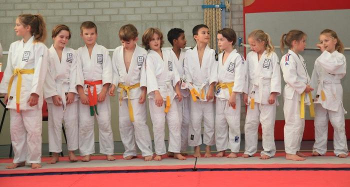 Jeugd judoka JRI